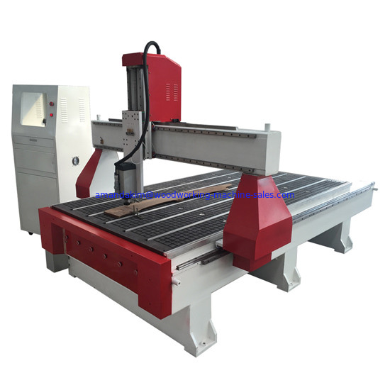 Wooden furniture engraving cnc router machine with 4.5kw HSD spindle for metal and wooden board