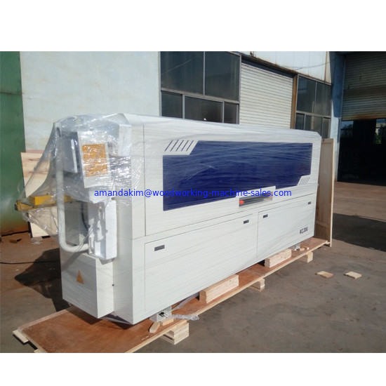 Full automatic edge banding machine for wooden furniture cabinets edge banding