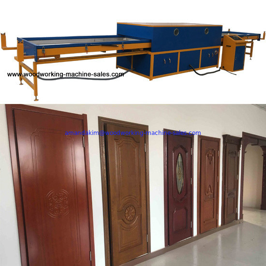 woodworking Veneer vacuum membrane press laminate matt high glossy pvc foil for kitchen Door Skin Machine