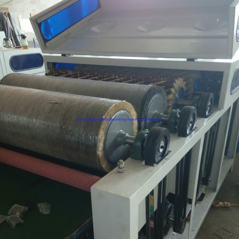 wood wire brush machine sanding KC1300-6P floor sanding machines for sales