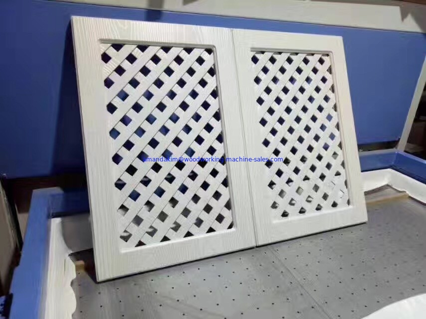 Pvc Membrane Kitchen Cabinet Door Vacuum Press Machine