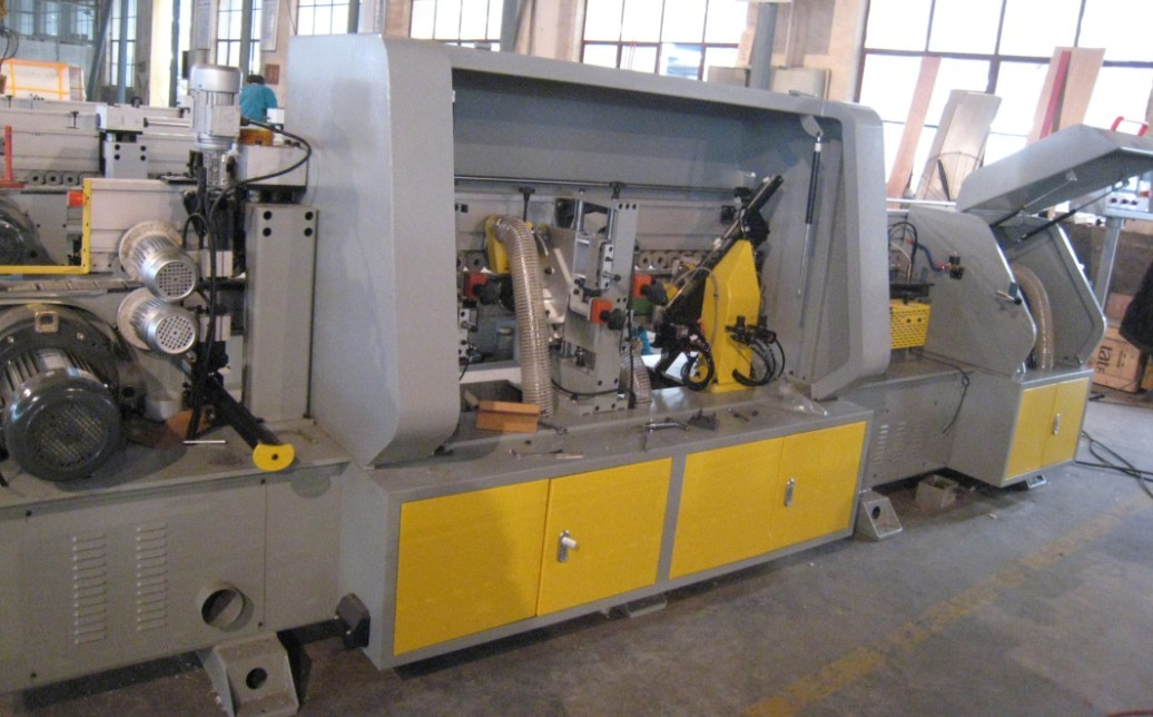 plywood edge banding machine