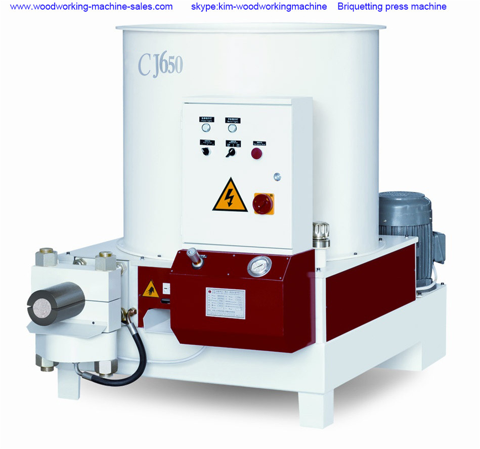 what is briquetting machine