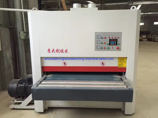 China wide belt sander wide belt sanding machine max. working width 1300mm wide belt sanding distributor